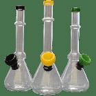 "7"" Mini Beaker w/ Carb Mixed Colors"