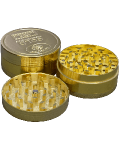 50mm 3pc Large Gold Coin Grinder
