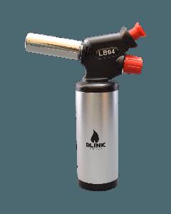 "6.5"" Blink Torch Lighter LB04 Silver"