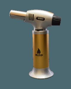 """6"""" Blink Torch Lighter MB02 Gold"""