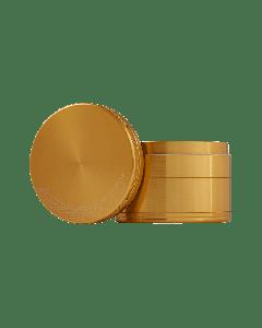 """1.6"""" Aerospaced 4 piece Grinder-Gold"""