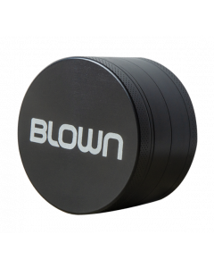 BLOWN Brand Grinder- 63mm, 4 piece, Black