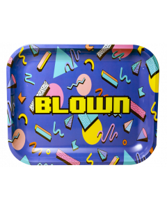 "Blown Rolling Tray - Limited Edition - 13""x11"", Retro Design"