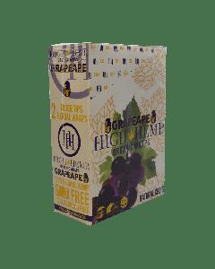 High Hemp- Grape Organic Hemp Wrap-2ct Pouch/25ct per Box