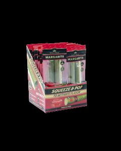 King Palm Mini Size Margarita Flavored Wrap (2 rolls/pack, 20 packs/display)