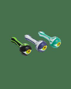 Silicone Handpipe- Eyeball w/ glass bowl