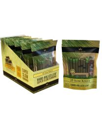 25 King Palm Slim Rolls w/ humidity pack and packing stick