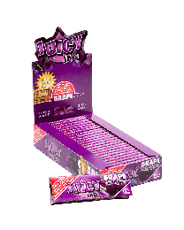 "Juicy Jay's 1 1/4"" Rolling Papers Grape 24ct. Box"