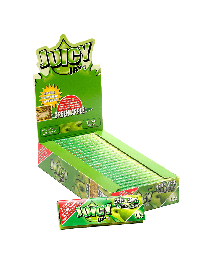 """Juicy Jay's 1 1/4"""" Rolling Papers Green Apple 24ct. Box"""