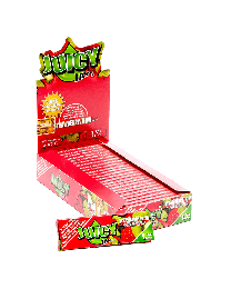 """Juicy Jay's 1 1/4"""" Rolling Papers Strawberry Kiwi 24ct. Box"""