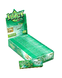 """Juicy Jay's 1 1/4"""" Rolling Papers Triple Green 24ct. Box"""