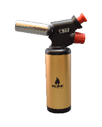 "6.5"" Blink Torch Lighter LB04 Gold"