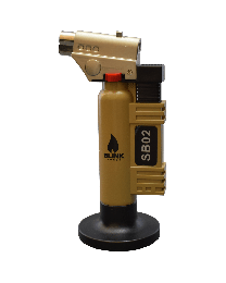 "6"" Blink Torch Lighter SB02 Gold"