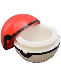 Red & White Silicone Jar