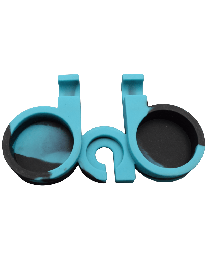 """D-A-B"" Shaped Silicone Tray w/ Tool Holder"