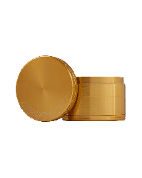 "1.6"" Aerospaced 4 piece Grinder-Gold"