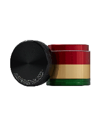 "1.6"" Aerospaced 4 piece Grinder-Rasta"