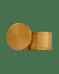 """2"""" Aerospaced 4 piece Grinder-Gold"""