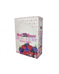 High Hemp-Bare Berry Organic Hemp Wrap-2ct Pouch/25ct Box