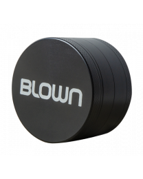 BLOWN Brand Grinder- 40mm, 4 piece, Black