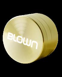 BLOWN Brand Grinder- 40mm, 4 piece, Gold