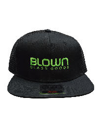 Blown Glass Goods Trucker Hat