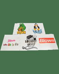 Blown Promo Sticker 5pk