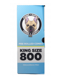 Cones Supply Bulk Cones- Classic King Size (109mm/26mm Filter) 800ct