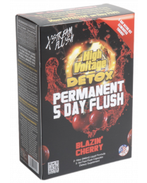 High Voltage Detox- 5 Day Permanent- Blazin Cherry