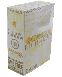 High Hemp- Banana Goo Organic Hemp Wrap-2ct Pouch/25ct Box