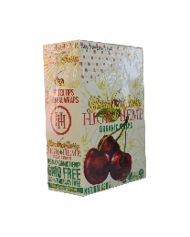 High Hemp-Blazin Cherry Organic Hemp Wrap-2ct Pouch/25ct per box