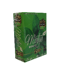 High Hemp- Minty Organic Hemp Wrap-2ct Pouch/25ct per Box