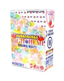 High Hemp- Hubba Bubba Organic Hemp Wrap-2ct Pouch/25ct per Box