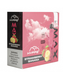 Hyppe Max-Strawberry Banana Disposable Device