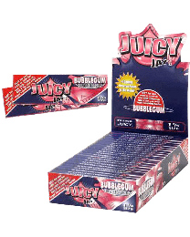 "Juicy Jay's 1 1/4"" Rolling Papers Bubblegum 24ct. Box"