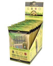 King Palm Pre-Rolls King, 5 Pack Pouches, 15ct