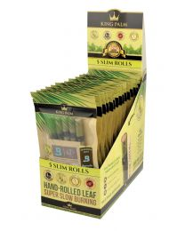 King Palm Pre-Rolls- Slim, 5 Pack Pouches, 15ct