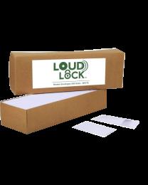 Loud Lock Envelopes - 500ct - White