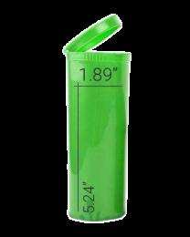 Loud Lock Pop Top Vials - Child Resistant - 60 Dram - 75ct - Green