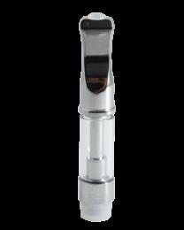 Ceramic Glass Oil Atomizer 0.7 MM - Chrome - 1/2ml - EZ Process - 100ct