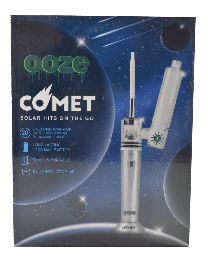 Ooze Comet E-Nail Vaporizer- Silver
