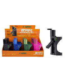 Ooze EZ Pipe 20ct Display- Lighter and Pipe Combo (Lighter not included)