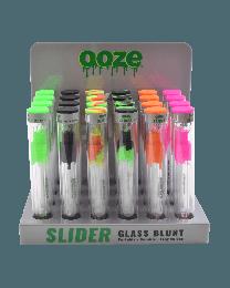 Ooze Slider Glass Blunt Display 24ct