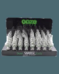 Ooze Globe Display + Dual Quartz Coils 32ct
