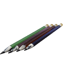Glass Pencil Dabber, Mixed Colors