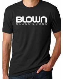 Blown Glass Goods-Men's Premium Cotton T-Shirt Black Medium