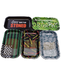 7X11 Tin Rolling Trays-Assorted Styles
