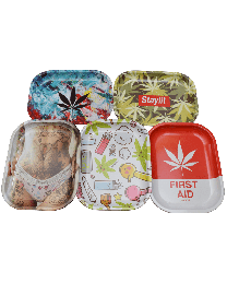 4x6 Tin Rolling Trays-Assorted Styles