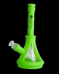 "Tasty Puff 10"" Beaker Water Pipe W/ Glass"