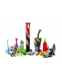 Silicone Pipes Package A 32 Pieces for $200